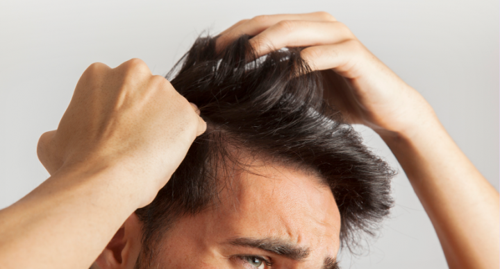 Men's hair loss: Causes & treatments