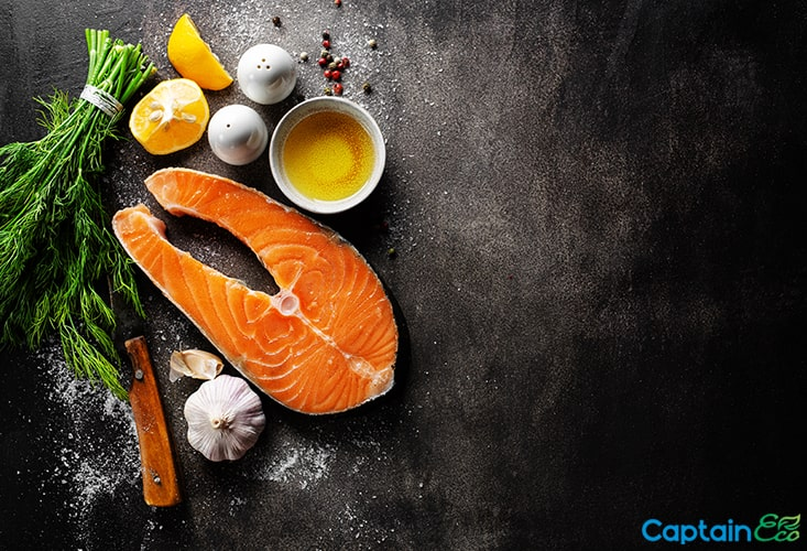 Seafood can cause hair loss