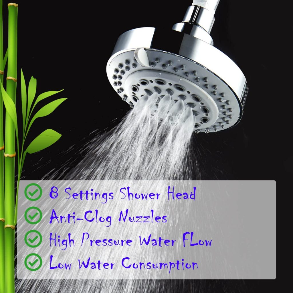 captain eco showerhead benefits