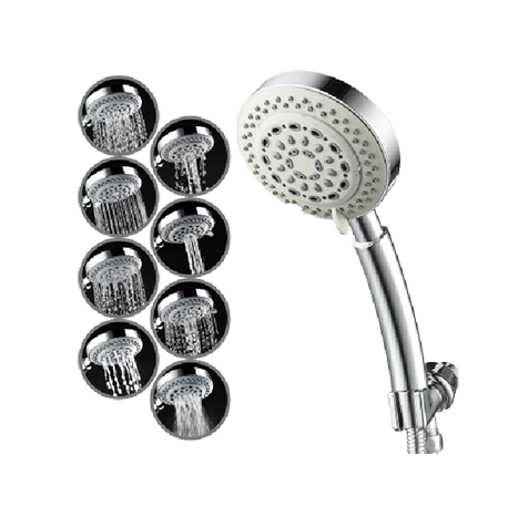captain eco showerhead modes